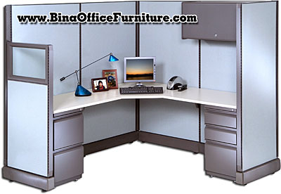 corner desk cubicle