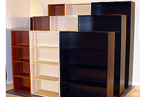 Furniture Bookcases No Assembly Required