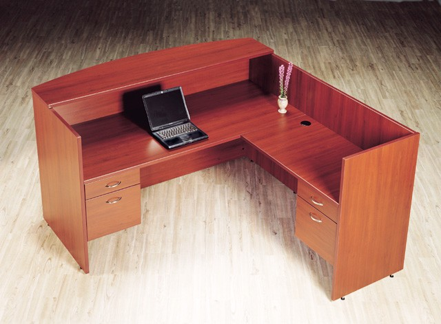 laminate reception desks